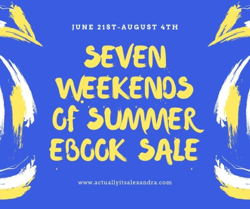 Seven weeks of summer ebook sale