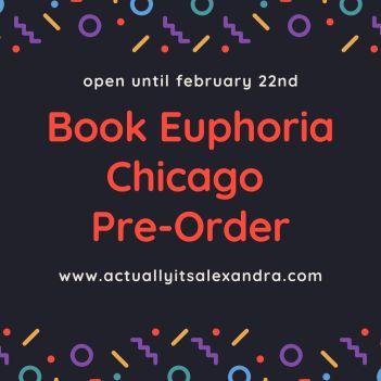 Book Euphoria Chicago Pre-Order